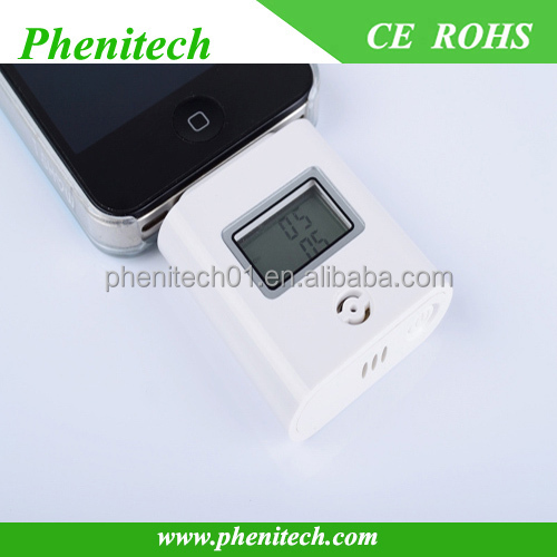 Mobile phone digital alcohol breath tester with factory price