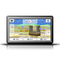 "7"" GPS SAT NAV Car Navigation Multimedia System Free Newest Maps Update 4GB"