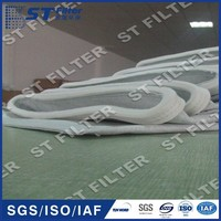 130*2100mm PE+antistatic fiber food grade filter bag