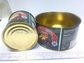 Brand products waterproof welded food tinplate can