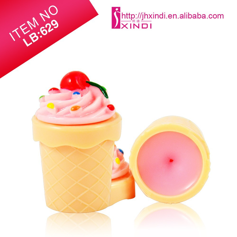 High Quality Ice Cream Lip Balm Manufacturer OEM Carton Lip Balm Make Your Own Lip Balm