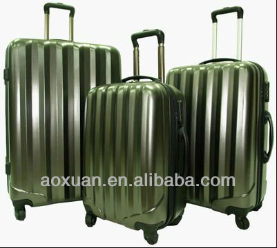 abs luggage 2015 Shanghai luggage factory abs trolley luggage bag