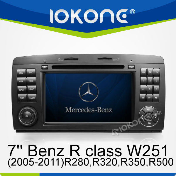 CAR/DVD/GPS for Mercedes-Benz R class W251(2005-2011)R280,R320,R350,R500