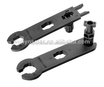 Solar MC4 Connectors Tool Spanner Wrenches Metal for Solar Panel Cable PV System Wire and MC4 Connectors Assembly