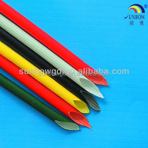 Type B Motor Winding Wires silicone coated glassfiber insulating sleeving