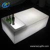 High Quality Battery Rechargeable Plastic dining table Illuminated Led Coffee Table