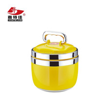 Wholesale high quality stainless steel insulated tiffin carrier/bento lunch box/food container