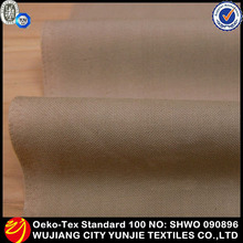 Waterproof soft 100% polyester micro fiber peach skin fabric for jacket