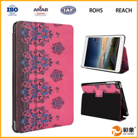 China supplier PU leather tablet case for iPad Pro with wake up/sleeping function