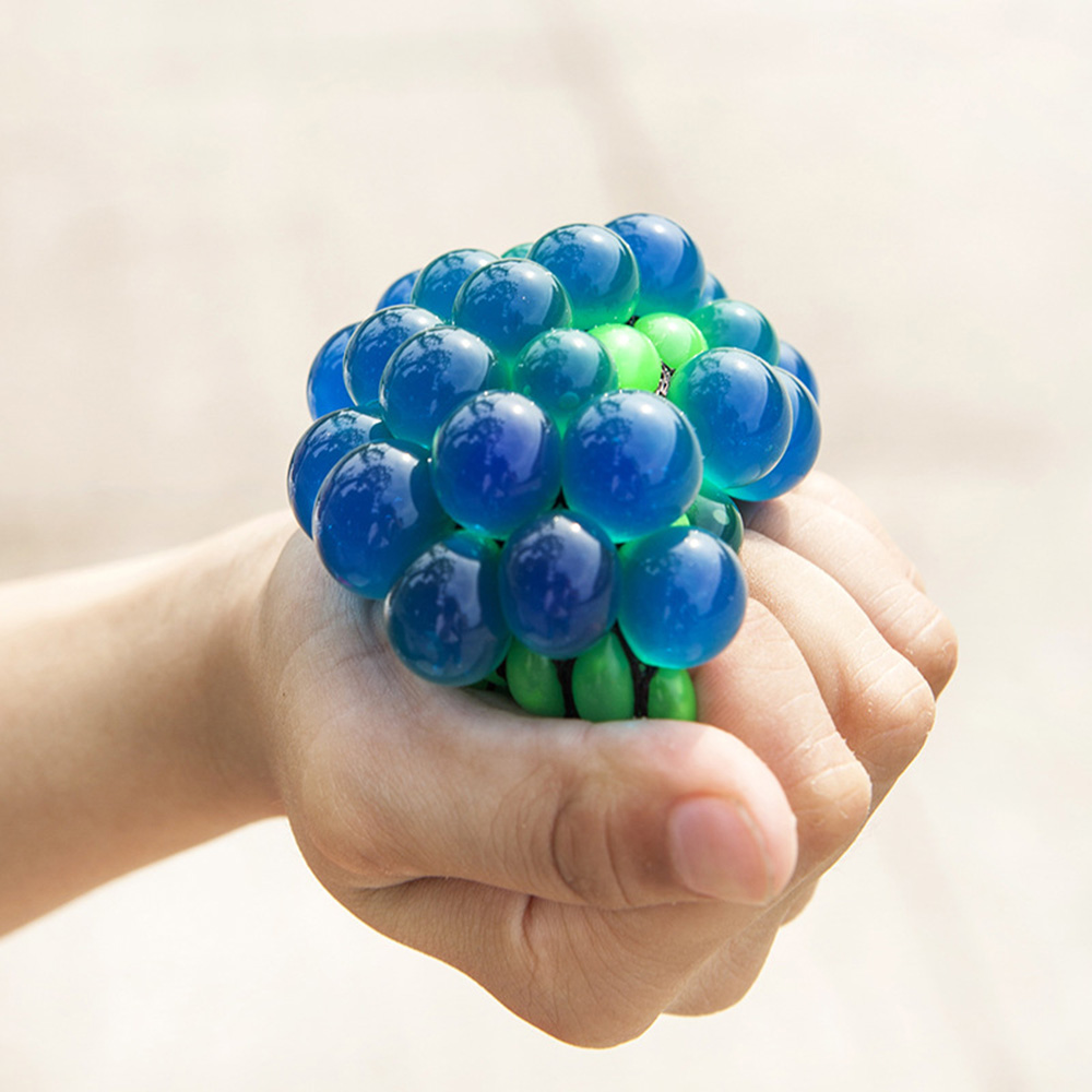 Bead Stress relief Ball Vent Ball Mesh Squishy Ball by Kids and Adult