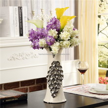 Artisan Leaf Vase Ceramic Floral Flower Decorative Vases