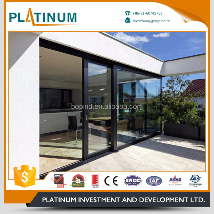 Good quality house plans commercial aluminum hidden sliding door