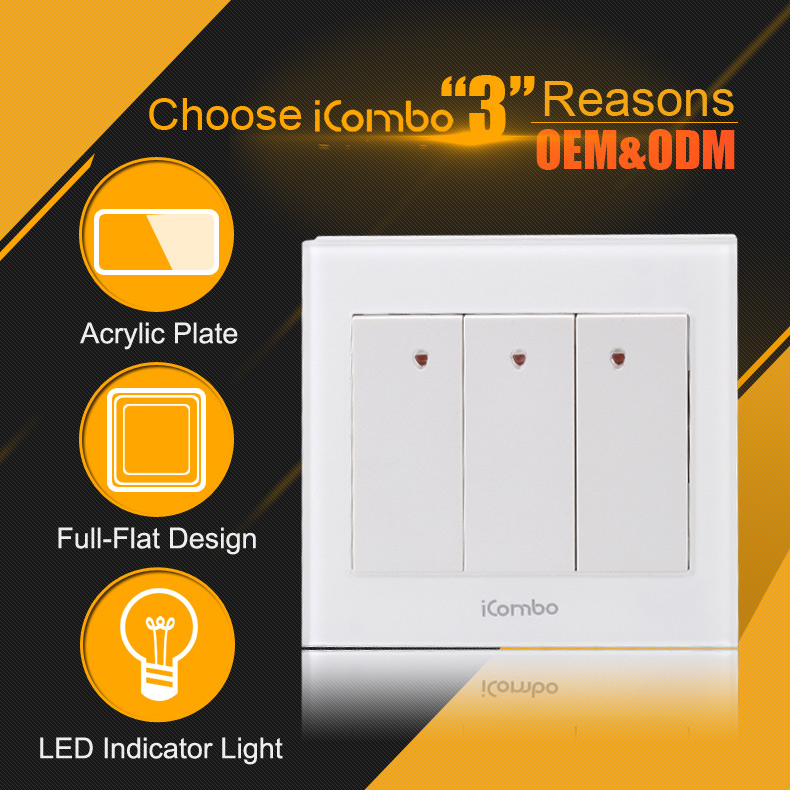 light wifi electrical smart home switches wall switch