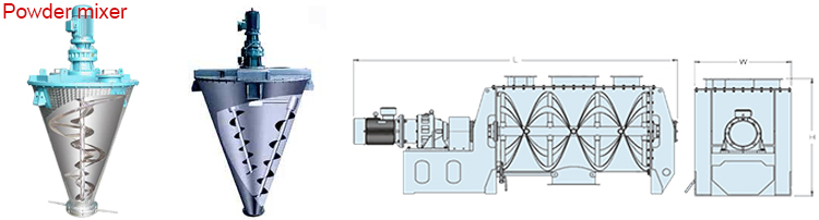High quality industrial blender, food mixer with CE approved