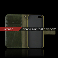 "Wholesale OEM for iphone 5 case cover genuine leather ,for iphone 5"" case leather with buckle"