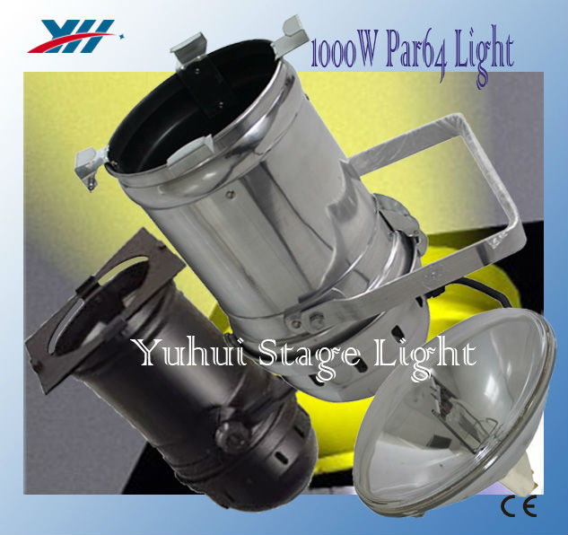 1000W Par64 Light Aluminum Par Can For Stage TV Theatre