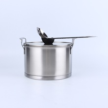 New design magic chef cookware stainless steel camping picnic equipment camping sets manufacturer