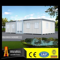 50mm Sandwich panel steel buildings 3 bedroom owes prefab modular home