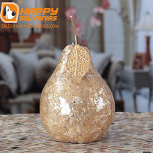 Christmas Decorative Statue Fake Fruit Pear, ornament decorative pear