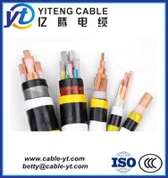 Copper conductor/XLPE insulation Low Smoke Halogen Free or Zero Halogen (LSHF or LSZH) flame-retardant Power Cable