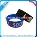 Printed Custom QR Code Silicone Wristband for Corporate Promotional Gifts