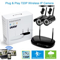 Plug and Play HD 720P Wireless Network WIFI Surveillance System P2P Outdoor IP Camera