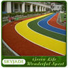 colorful artificial grass for children playground