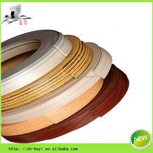 embossment kitchen cabinet pvc edge banding for board