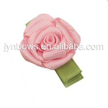 Flower Baby Hair Clip Ribbon Bow