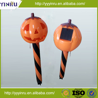 halloween costumes rechargeable battery for pumpkin led solar lights