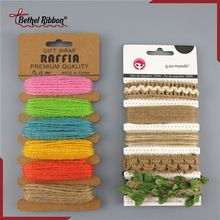 Super quality hand dyed jute yarn twine