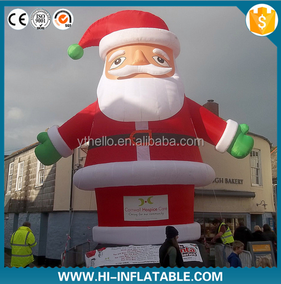 2015 hot sale inflatable Christmas decoration,inflatable Santa Claus,Santa Claus inflatable model