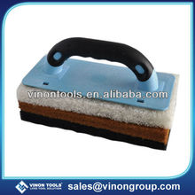 Best Selling Scouring Pad Holder, Sponge Pad with sticky handle for Cleaning