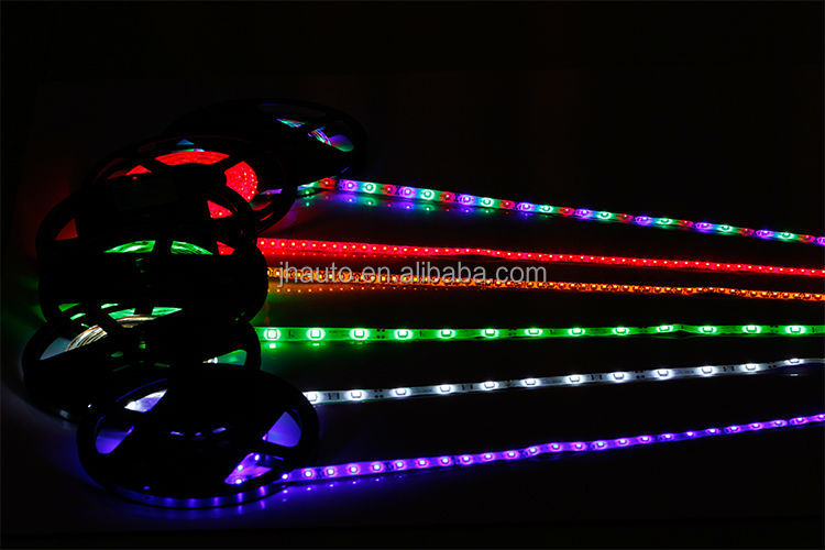 Multicolor LED Light Strip 5050 LED 300 SMD Flexible Waterproof LED Strips 12V DC 5m/Roll Change With Remote