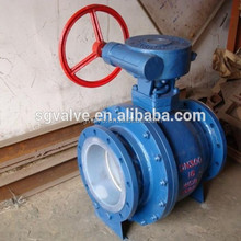 rubber lined floating ball valve