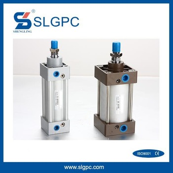 Aluminium alloy material good quality low price pneumatic air double action cylinder SC-63*50