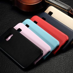 New arrival Soft PU Leather Slim Gel Back Cover Case For Samsung Galaxy S6