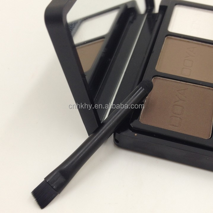 Newly Launched QBEKA 3 Colour Waterproof Naked Eye Shadow <strong>Cosmetics</strong> Makeup Eye Shadow Eye Shadow Case