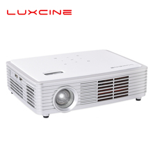 New arrive 700 ANSI lumens LUXCINE Z4000 Projector Android 5.1 Active Shutter 3D 1280*800 full HD 1080p mini LED DLP Projector