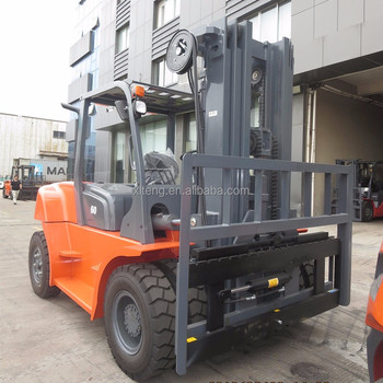 China 6 ton diesel forklift with automatic transmission