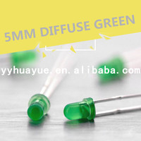 OEM Modern High Quality Skillful Manufacture Finely Processed 3mm green led