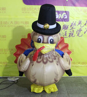 inflatable Turkey costume mascot model replicas for sale