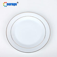 China top quality blank design ceramic dinner <strong>plate</strong>, sublimation souvenir <strong>plate</strong>