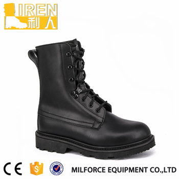 World best quality men leather paratrooper soft combat boots