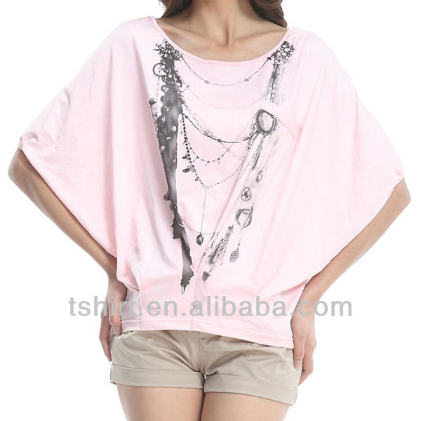 Custom 2013 korea t-shirt lady fashion
