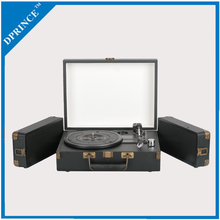 Promotional products wholesale vinyl record turntable player with recording