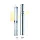 2hp DC Intelligent electric submersible solar water pump permanent magnet brushless deep well pump