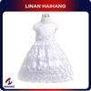 China Manufacturer OEM design sleeveless child dress, fashionable flower girl dress