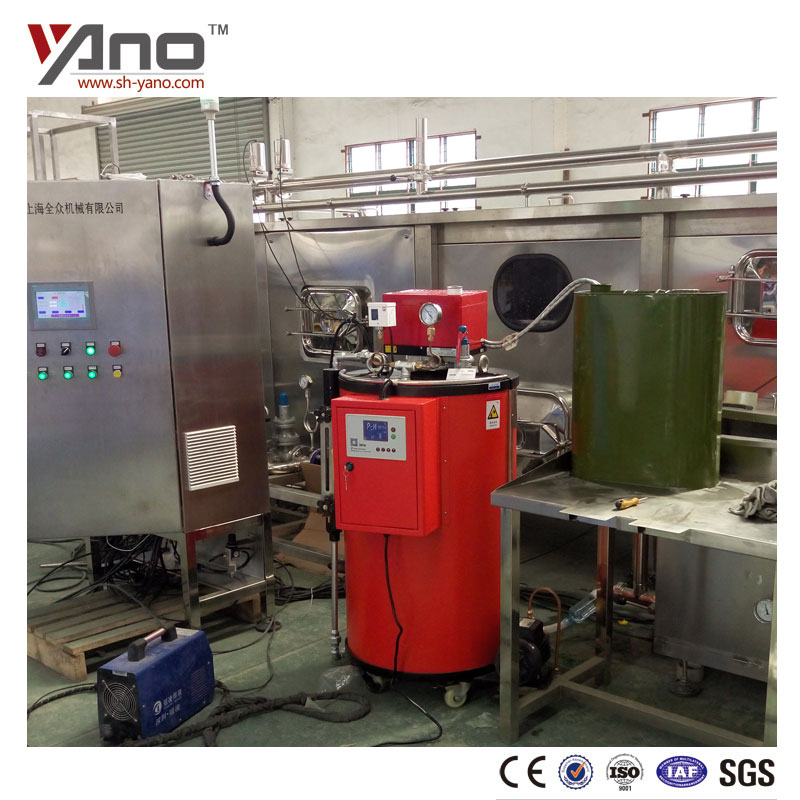 35-100Kg/h Fuel Gas and Oil Industrial Milk Boiler For Sterilization and Disinfection