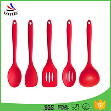 Lottie Best Selling Products 5-Piece cooking kitchen tools set/silicone kitchen utensils